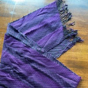 Cotton Scarf purple